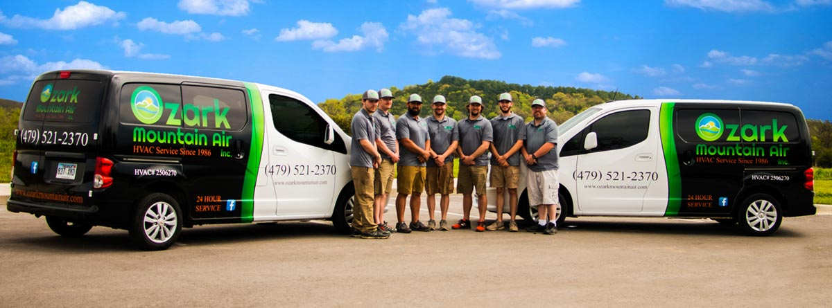 Since 1984, Ozark Mountain Air has provided affordable and trustworthy A/C repair and furnace repair service to Fayetteville AR and surrounding areas.
